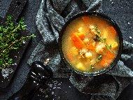 Рецепта Рибена супа / чорба със скумрия, картофи и моркови